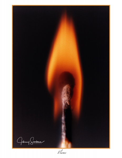 Match Stick Flame Nikon FM2 -color