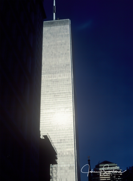 World Trade Center 1986 / FM2 64 ASA slide film
