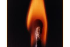 Match Stick Flame Nikon FM2 -color