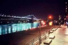 Brooklyn Bridge FM2 64 ASA slide Film 1986