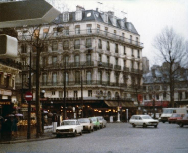 Place de la République Paris France 1979