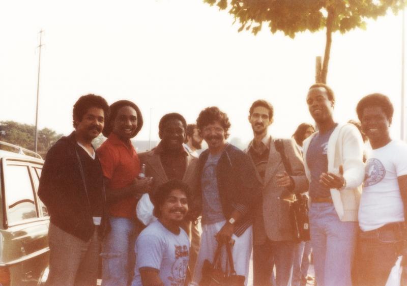Geneva Switzerland - Mongo Santamaria & Chick Corea band members 1980