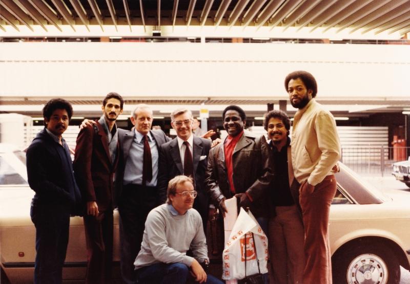 Heathrow Airport London 1980 - Mongo Santamaria Band