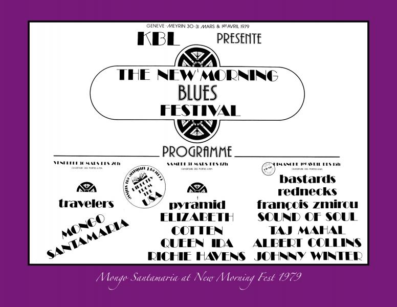 NEW MORNING FESTIVAL Book Flyer 1979