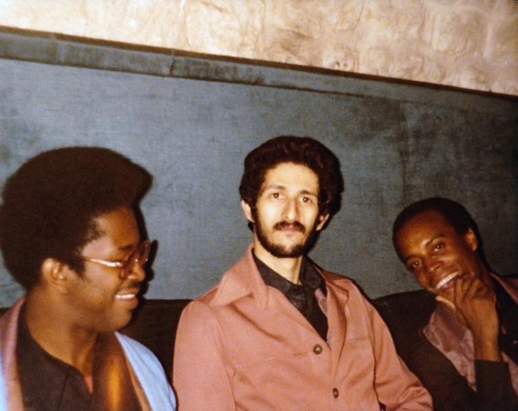 Paris restaurant - Me, Milton & Allen 1979