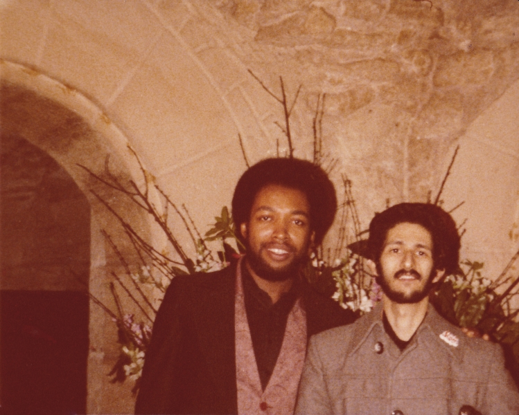 In Paris France with Lee Smith 1979