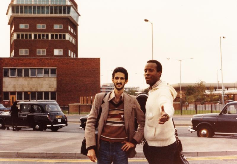 With Allen Hoist - Heathrow Airport -London 1980