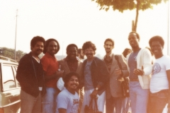 Geneva Switzerland - Mongo Santamaria & Chick Corea band members 1980