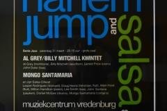 Harlem Jump Salsa Poster - Utrecht Netherlands 1980