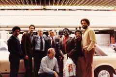 Heathrow Airport London 1980 - Mongo Santamaria Band