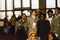Mongo Santamaria band Kennedy Airport 1980