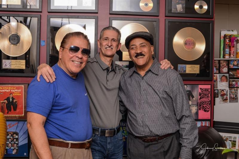 Johnny Zamot, Johnny Santana, Papo Pepin