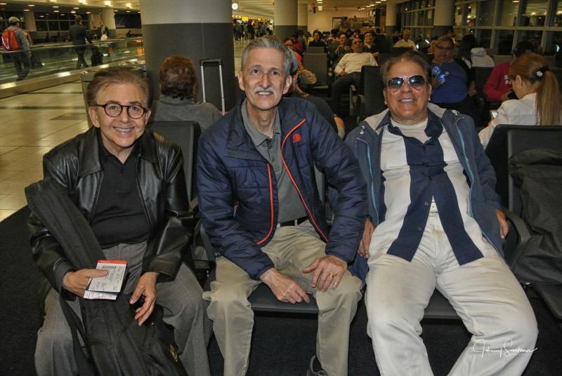 Nelson Gonzalez, Johnny Santana & Johnny Zamot / Kennedy Airport