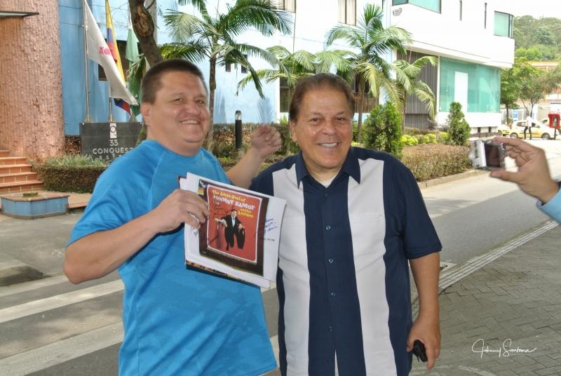 Fan, Johnny Zamot in Medellin Colombia