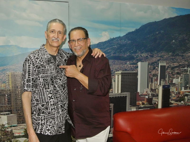 Johnny Santana & Angel Justiniano from New Swing Sextet-Medellin