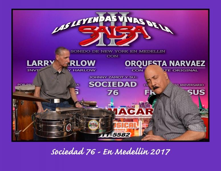 Leyendas viva de la Salsa - Medellin 2017