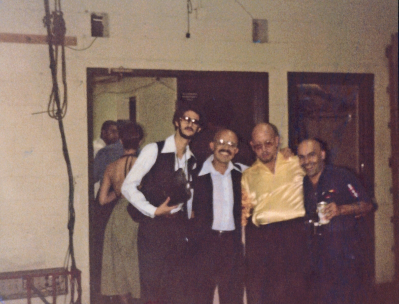 Sociedad 76, Back stage MSG 1977_20160831_0001