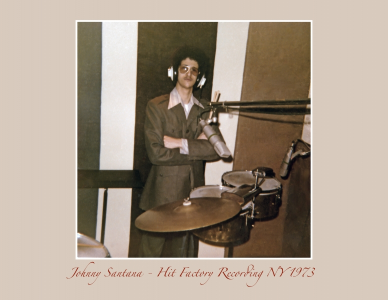 Johnny Santana - Hit Factory NY 1973