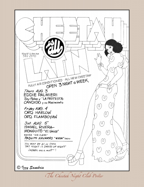 The Cheetah Night Club Poster 1973