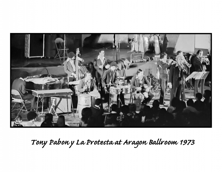 Tony Pabon La Protesta - Aragon Ballroom BD 1973-2018 B