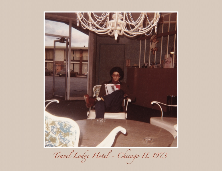 Travel Lodge Hotel Chicago IL 1973