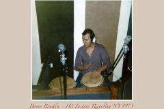 Benny Bonilla Hit Factory NY 1973