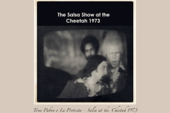 Tony Pabon Salsa at the Cheetah 1973-4