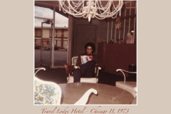 Travel Lodge Hotel Chicago IL 1973